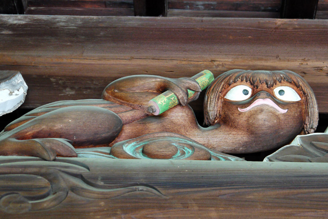 大龍寺のカッパ