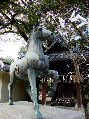 藤森神社の馬