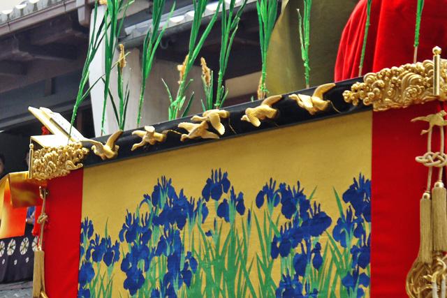 祇園祭の芦刈山の写真