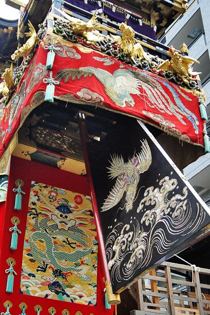 祇園祭の船鉾の写真