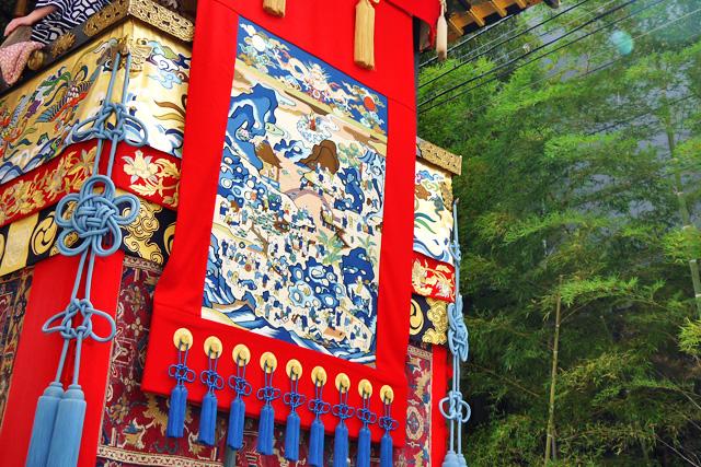 祇園祭の岩戸山の写真