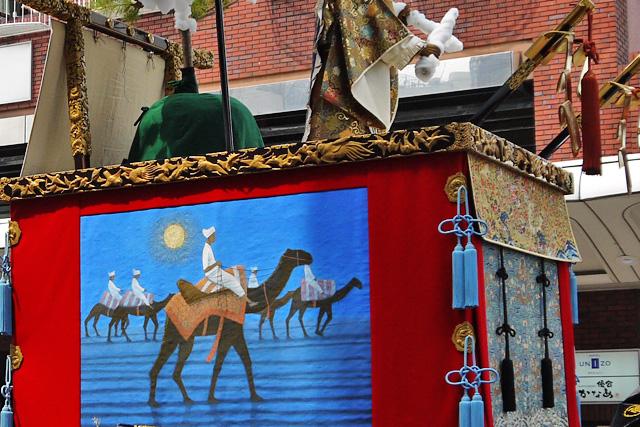 祇園祭の孟宗山の写真