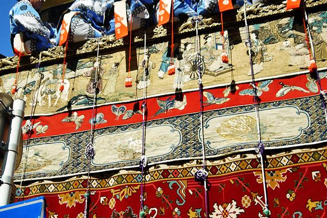 祇園祭の鶏鉾の写真