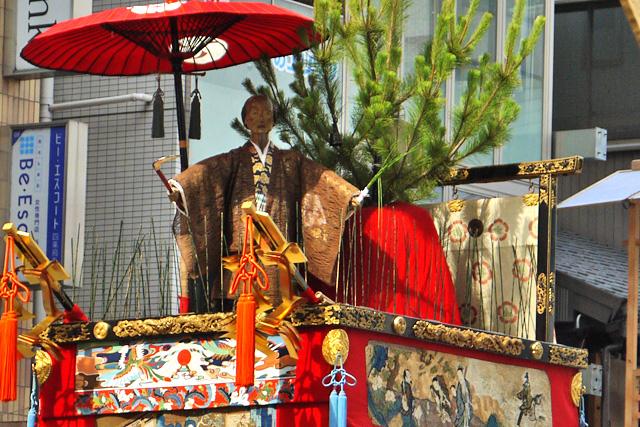 祇園祭の木賊山の写真