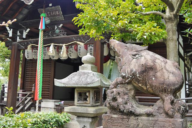 本法寺の狛猪