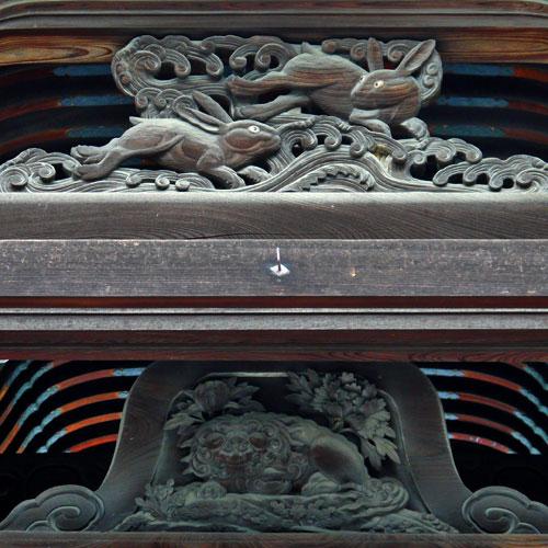高台寺の兎