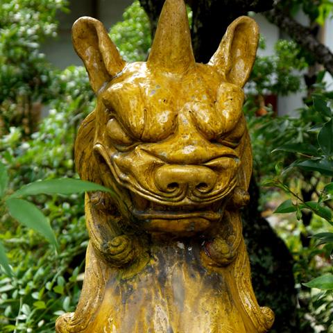 松風天満宮の狛犬