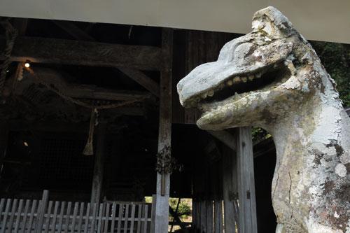 三和町の八幡宮