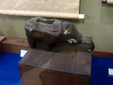 大石内蔵助の象の香炉