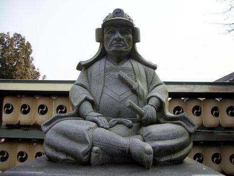 大石神社の大石内蔵助