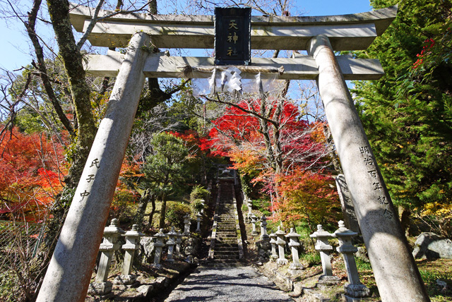 奥山田天神社の写真