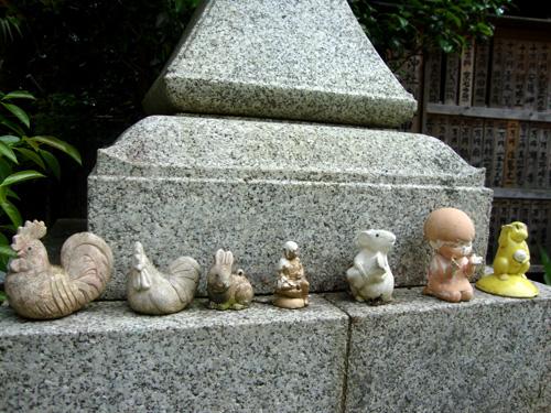 大豊神社の動物