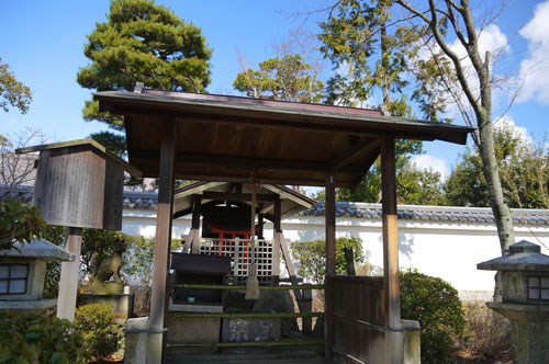 相国寺の宗旦稲荷神社