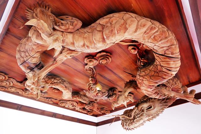 瀧尾神社の龍の写真