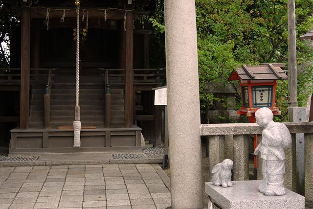 八坂神社のうさぎ